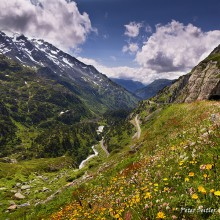 Susten pass Švajčiarsko