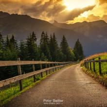 Cesta dolu z Kleine Scheidegg
